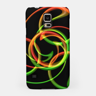 Miniatur Cyclical Loops Samsung Case, Live Heroes
