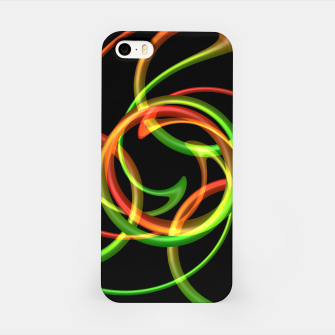 Miniatur Cyclical Loops iPhone Case, Live Heroes