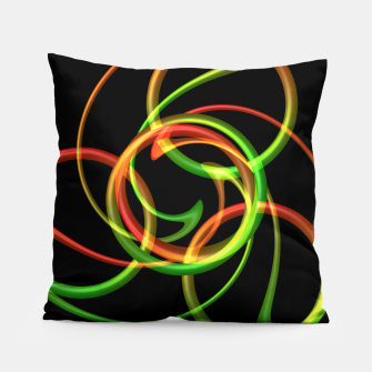 Miniatur Cyclical Loops Pillow, Live Heroes
