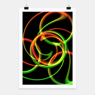 Miniatur Cyclical Loops Poster, Live Heroes