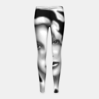 Thumbnail image of How Could You Space Float Girl's leggings, Live Heroes