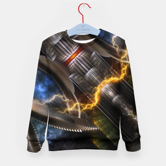 Thumbnail image of Time Storm Kid's sweater, Live Heroes