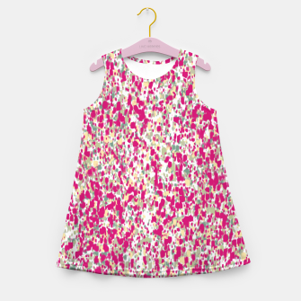 Thumbnail image of Feminine Spring camouflage Girl's summer dress, Live Heroes