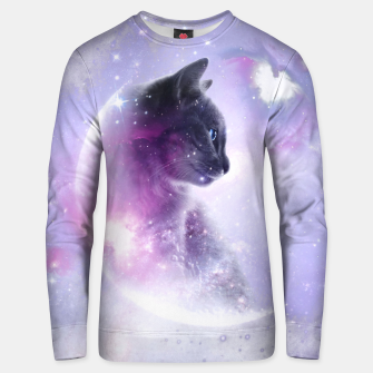 Galaxy Cat Unisex sweatshirt thumbnail image