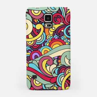 Thumbnail image of Colorful Hippie Swirl Pattern Samsung Case, Live Heroes