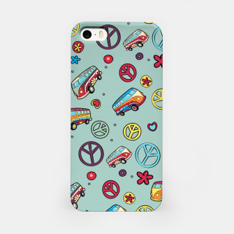 Retro  Hippie  Pattern  iPhone Case imagen en miniatura