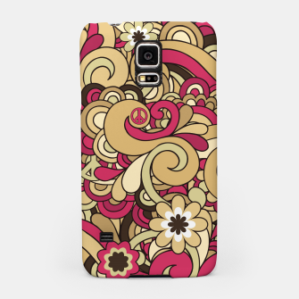 Thumbnail image of Vintage Hippie Swirl  Samsung Case, Live Heroes