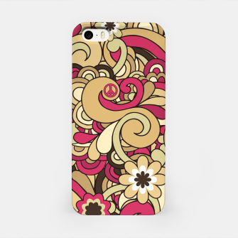Thumbnail image of Vintage Hippie Swirl  iPhone Case, Live Heroes