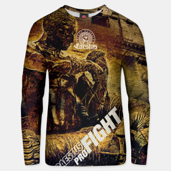 Thumbnail image of Caestus Fighter Unisex sweater, Live Heroes
