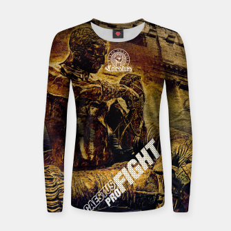 Thumbnail image of Caestus Fighter Women sweater, Live Heroes