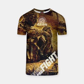 Thumbnail image of Caestus Fighter T-shirt, Live Heroes