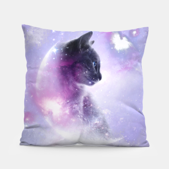 Galaxy Cat Kissen thumbnail image