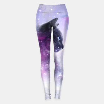 Miniaturka Galaxy Cat Leggings, Live Heroes