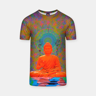 Thumbnail image of Cool Water Zen (Ultraviolet)  T-shirt, Live Heroes