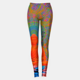 Miniature de image de Cool Water Zen (Ultraviolet)  Leggings, Live Heroes