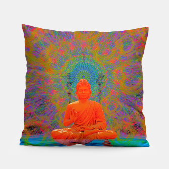 Miniature de image de Cool Water Zen (Ultraviolet)  Pillow, Live Heroes