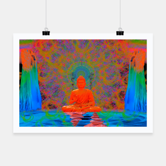 Thumbnail image of Cool Water Zen (Ultraviolet)  Poster, Live Heroes