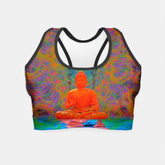 Miniature de image de Cool Water Zen (Ultraviolet)  Crop Top, Live Heroes