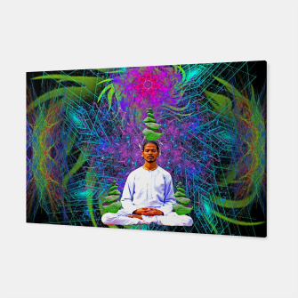 Miniatur Thought Whisps (psychedelic, meditation) Canvas, Live Heroes