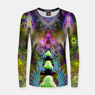 Thumbnail image of Featherweight Lucidity Women sweater, Live Heroes