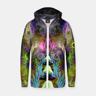 Thumbnail image of Featherweight Lucidity Zip up hoodie, Live Heroes