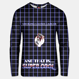 Miniaturka smoking causes cancer Unisex sweater, Live Heroes