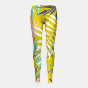 Thumbnail image of Vie De Palme Girl's leggings, Live Heroes