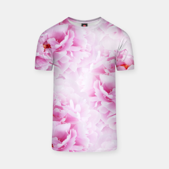 Thumbnail image of Pink Peonies Dream #2 #floral #decor #art T-Shirt, Live Heroes