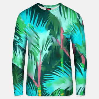Thumbnail image of Palm Forest Unisex sweater, Live Heroes