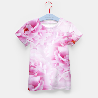 Thumbnail image of Pink Peonies Dream #2 #floral #decor #art T-Shirt für kinder, Live Heroes