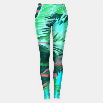 Miniatur Palm Forest Leggings, Live Heroes
