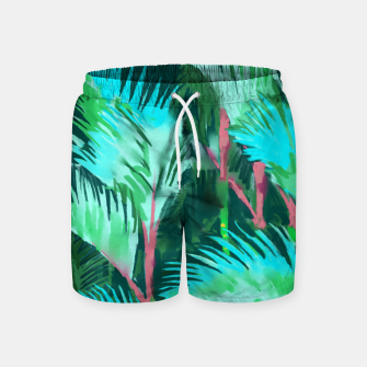 Thumbnail image of Palm Forest Swim Shorts, Live Heroes