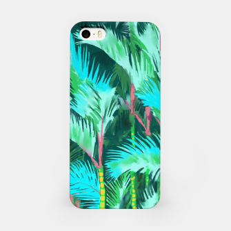 Miniatur Palm Forest iPhone Case, Live Heroes