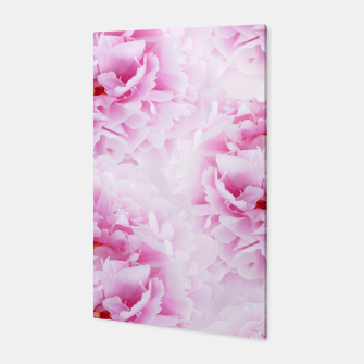 Thumbnail image of Pink Peonies Dream #2 #floral #decor #art Canvas, Live Heroes