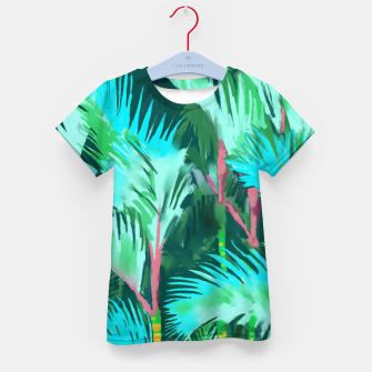 Thumbnail image of Palm Forest Kid's t-shirt, Live Heroes