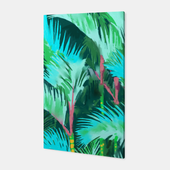 Miniatur Palm Forest Canvas, Live Heroes
