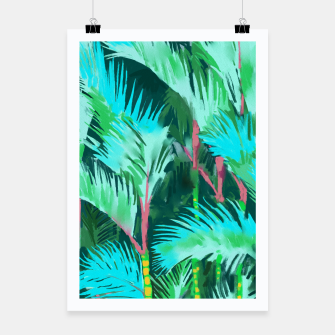 Thumbnail image of Palm Forest Poster, Live Heroes