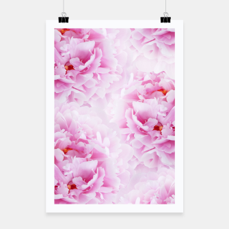 Thumbnail image of Pink Peonies Dream #2 #floral #decor #art Plakat, Live Heroes