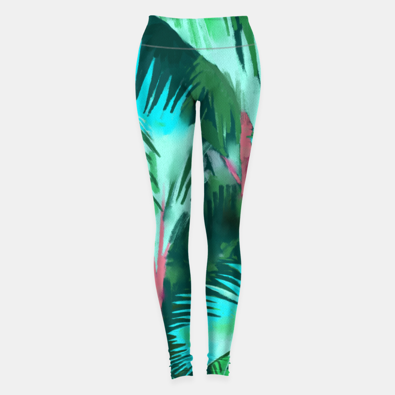 Image of Palm Forest Leggings - Live Heroes
