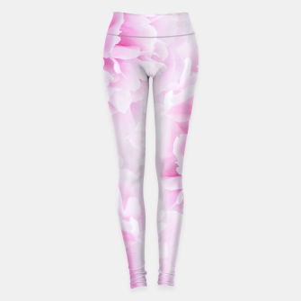 Thumbnail image of Pink Peonies Dream #2 #floral #decor #art Leggings, Live Heroes