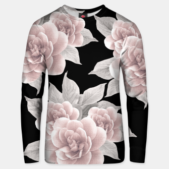 Thumbnail image of Dreamy Flowers on Black #1 #floral #decor #art Unisex sweatshirt, Live Heroes