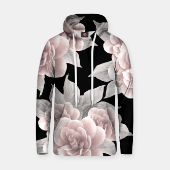 Thumbnail image of Dreamy Flowers on Black #1 #floral #decor #art Kapuzenpullover, Live Heroes