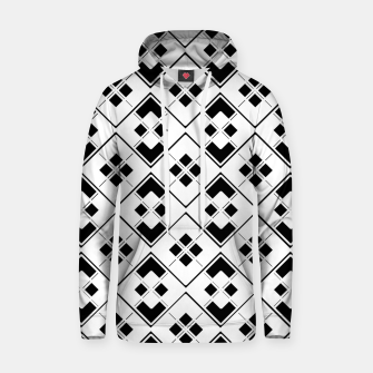 Imagen en miniatura de Abstract geometric pattern - black and white. Hoodie, Live Heroes