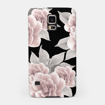 Thumbnail image of Dreamy Flowers on Black #1 #floral #decor #art Handyhülle für Samsung, Live Heroes