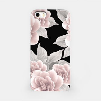 Thumbnail image of Dreamy Flowers on Black #1 #floral #decor #art iPhone-Hülle, Live Heroes