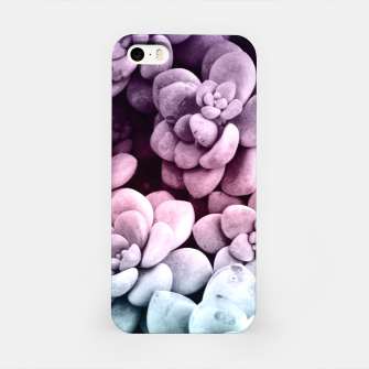 Thumbnail image of Dreamy Succulents #1 #pastel #decor #art iPhone-Hülle, Live Heroes