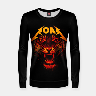 Thumbnail image of Roar Women sweater, Live Heroes