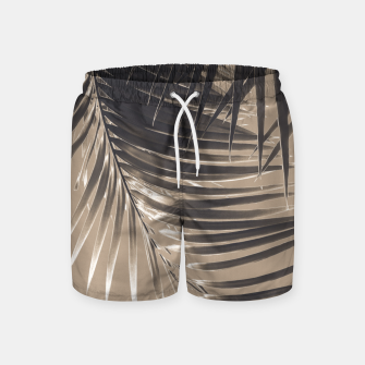 Thumbnail image of Palm Leaves Sepia Vibes #2 #tropical #decor #art Badeshorts, Live Heroes