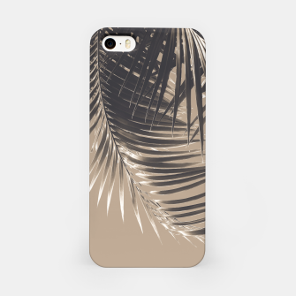 Thumbnail image of Palm Leaves Sepia Vibes #2 #tropical #decor #art iPhone-Hülle, Live Heroes