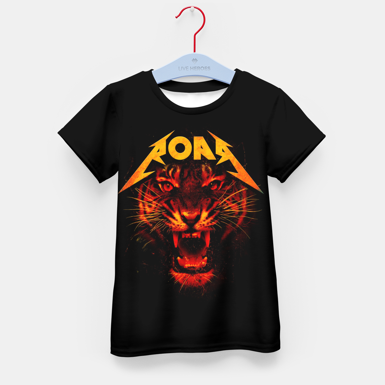 Image of Roar Kid's t-shirt - Live Heroes